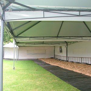 Locação de Tenda Pirâmide 8X8 em Curitiba