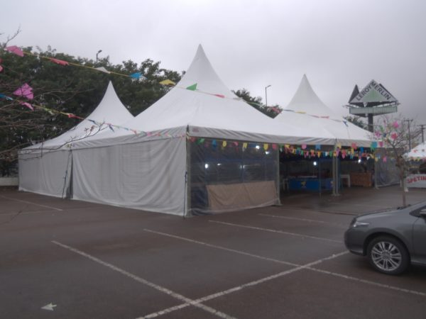 Tenda Chapéu de Bruxa 10X10 em Curitiba