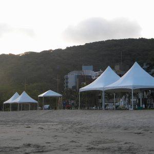 Locação de Tenda Chapéu de Bruxa 5X5 em Curitiba